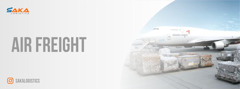 Header SAKA Air Freight
